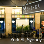 SHINKA on york streetl, Sydney